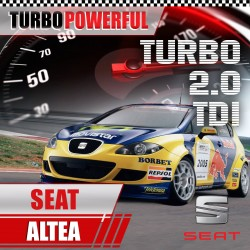 Turbo elaborato Seat Altea...