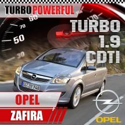 Turbo elaborato Opel Zafira...