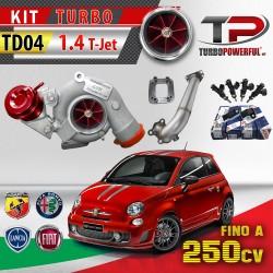 Kit turbo TD04 1.4 T-jet...
