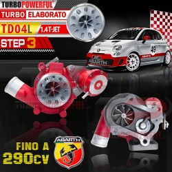 Turbo elaborato TD04L Anti...