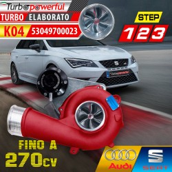 Turbo elaborato K04 Audi...